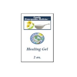 Healing Gel 2oz plastic squeeze tube