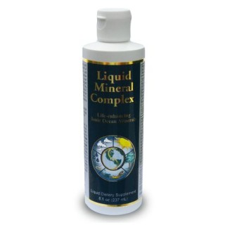 Liquid Mineral Complex 8 oz plastic bottle