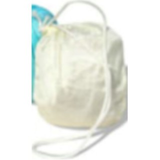 Crystal Ball Replacement Bag 1 Ivory Aqua Bag