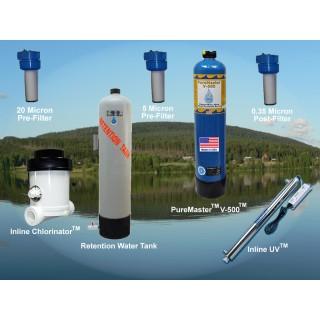 Lake/Rain Water System