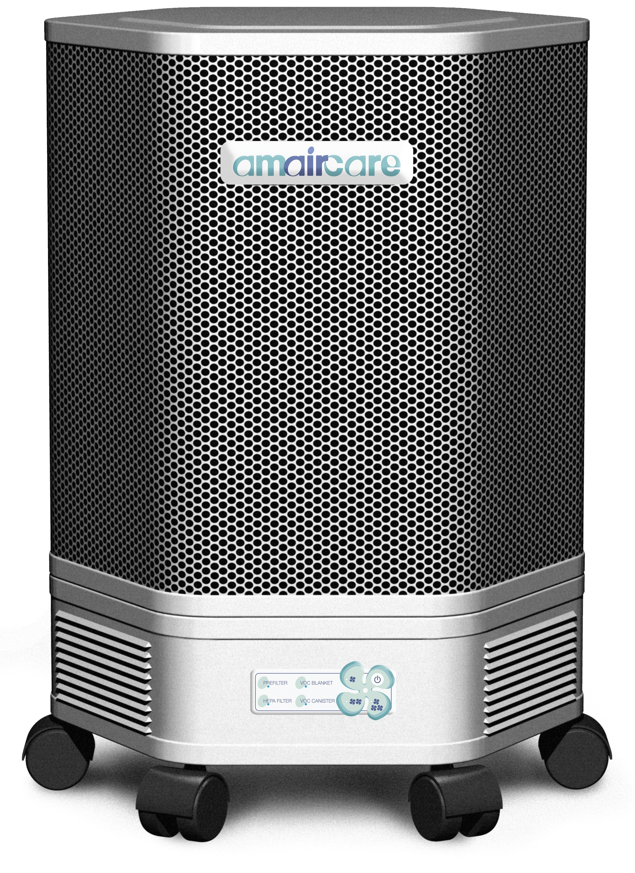 Portable Hepa Air Purifiers : Amaircare portable hepa air purifier white