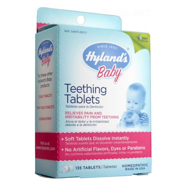 Hyland's Baby Teething Tablets 135 tabs