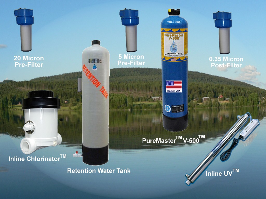 Home Water Purifier System Filtration Water Treatment