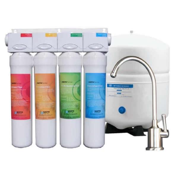 watts premier 531411 ro pure ro 4 reverse osmosis system rh vitasalus net Watts Premier Water Filter Watts Premier Costco