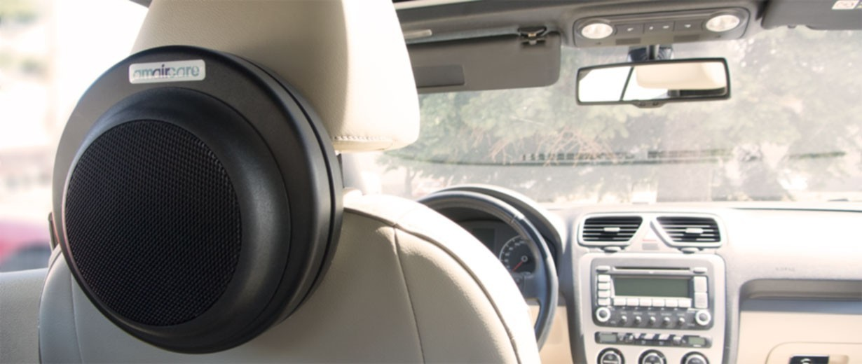 amaircare xr100 portable air filtration system car unit. Black Bedroom Furniture Sets. Home Design Ideas