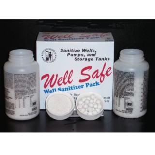 Well Safe Well Sanitizer Kit  - one year supply