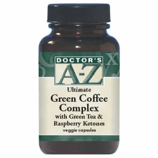 Doctor's A-Z Green Coffee Complex with Green Tea & Raspberry Ketones 60 veggie caps