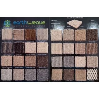 Earth Weave Carpet/Rug* Samples Kit
