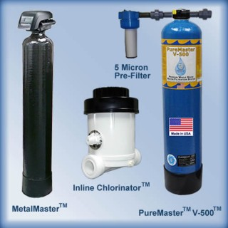 Well Water System Package #3 w/MetalMaster 10 gpm