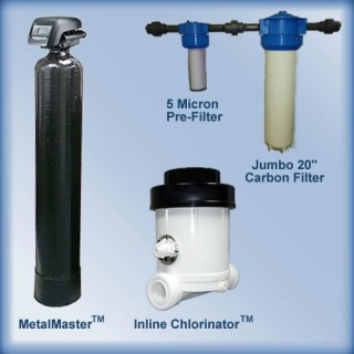 Well Water System Package #4 w/MetalMaster 8 gpm