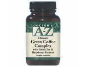 Doctor's A-Z Green Coffee Complex with Green Tea & Raspberry Ketones 60 veggie caps