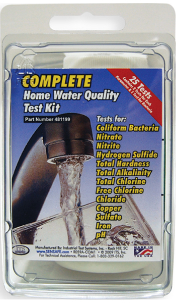 Complete Home Water Quality Test Kit